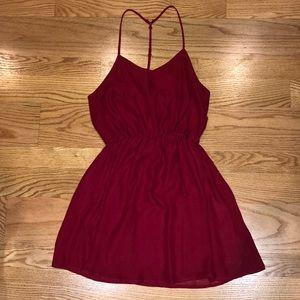 Tobi Little Red Cocktail Dress